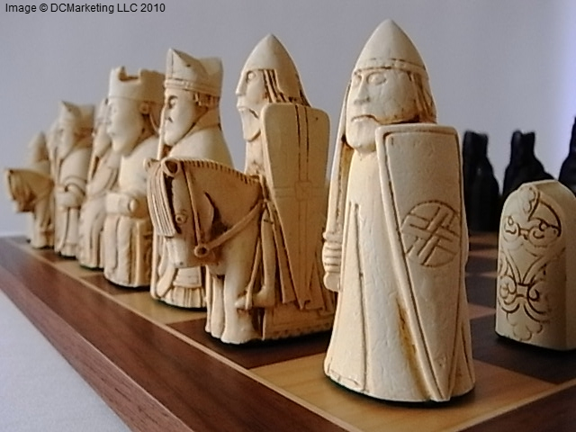 Isle of Lewis Chess Pieces For Sale